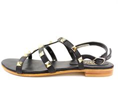 38f14d7f3e3 Petit by Sofie Schnoor sandal black med guldnitter