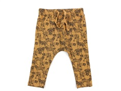 Petit by Sofie Schnoor leggings Valdemar rust brown tiger