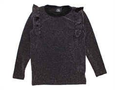 Petit by Sofie Schnoor bluse black glitter