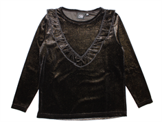 Petit by Sofie Schnoor bluse black glitter velour