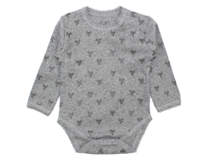Petit by Sofie Schnoor body grey bow print