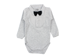 Petit by Sofie Schnoor body grey melange bow tie