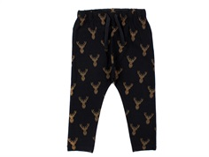 Petit by Sofie Schnoor leggings black gold deer
