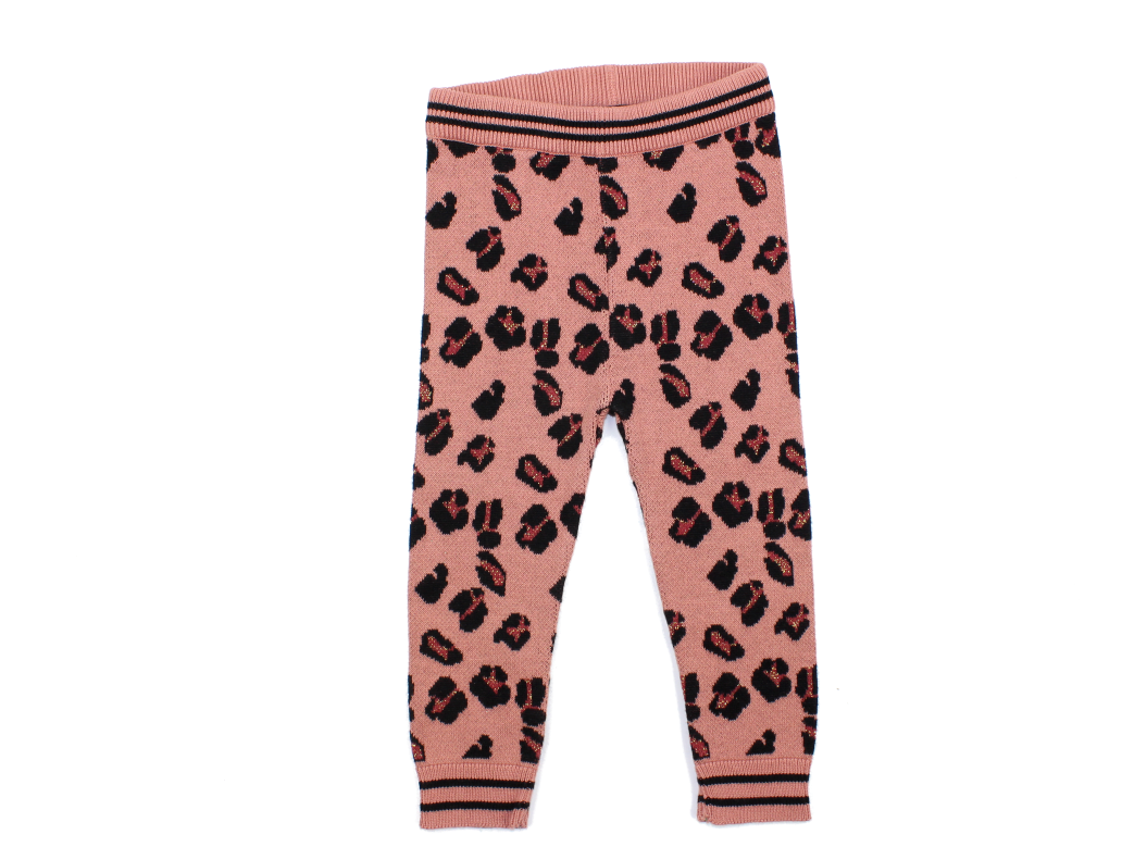 Petit by Sofie Schnoor bukser dusty rose leopard