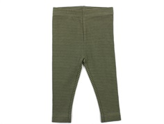 Petit by Sofie Schnoor leggings green striber