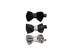 Petit by Sofie Schnoor hairclips black glitter