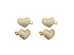 Petit by Sofie Schnoor hairclips rsmall heart champgane