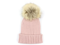 Petit by Sofie Schnoor beanie rose faux fur