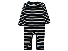 Petit by Sofie Schnoor jumpsuit stripes black white