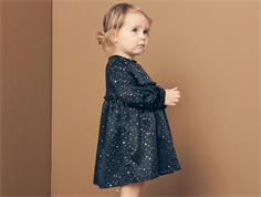 Petit by Sofie Schnoor kjole black gold dot