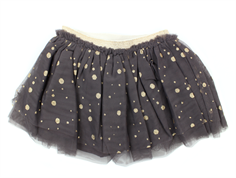 Petit by Sofie Schnoor nederdel dark purple gold dots