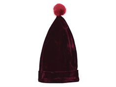 Petit by Sofie Schnoor nissehue dark red velour junior