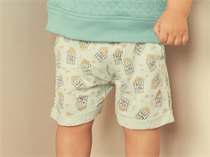 Petit by Sofie Schnoor shorts dusty green popcorn