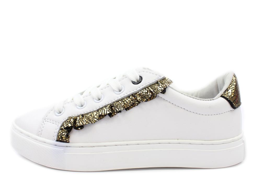 79c86bd0182 Petit by Sofie Schnoor sneakers hvid med flæse | UDSALG - spar op til 40%