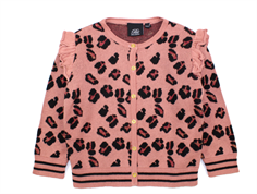 Petit by Sofie Schnoor cardigan dusty rose leopard