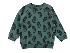 Petit by Sofie Schnoor sweatshirt dusty green tiger