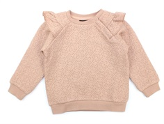 Petit by Sofie Schnoor sweatshirt light rose glitter