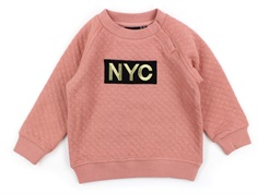 Petit by Sofie Schnoor sweatbluse quilt rose NYC
