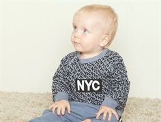 Petit by Sofie Schnoor sweatshirt NYC dusty blue