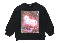 Petit by Sofie Schnoor sweatshirt black unicorn