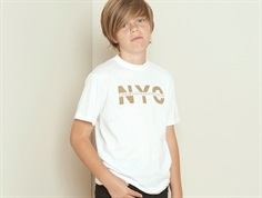 Petit by Sofie Schnoor t-shirt NYC white