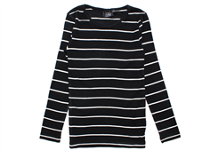 Petit by Sofie Schnoor t-shirt black white lang