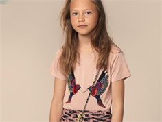Petit by Sofie Schnoor t-shirt cameo rose fugle