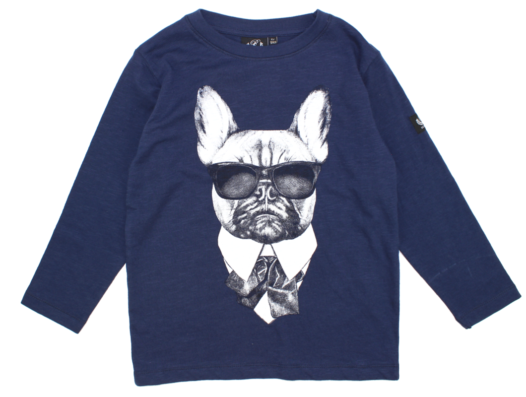 4ef292be0d5 Petit by Sofie Schnoor t-shirt hund blå | P163131 | Kæmpe VINTERUDSALG