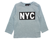 Petit by Sofie Schnoor t-shirt petrol NYC baby