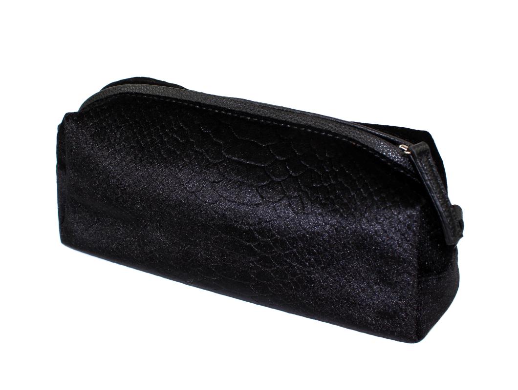4d8ac2bb2de Sofie Schnoor toilettaske black   Velvet croco   199,00.-