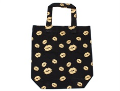 Petit by Sofie Schnoor tote bag/shopper black gold kiss