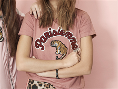 Petit by Sofie Schnoor t-shirt Parisienne dusty rose