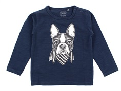 Petit by Sofie Schnoor t-shirt dark blue dog