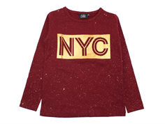 Petit by Sofie Schnoor t-shirt NYC dark red