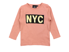 Petit by Sofie Schnoor tshirt dusty rose gold NYC