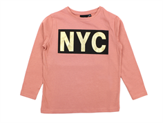 Petit by Sofie Schnoor tshirt dusty rose gold NYC big