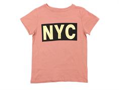 Petit by Sofie Schnoor tshirt dusty rose guld NYC
