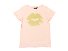 Petit by Sofie Schnoor t-shirt lips cameo rose