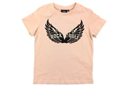 Petit by Sofie Schnoor t-shirt light rose Rock n Roll