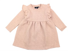 Petit by Sofie Schnoor sweatkjole light rose glitter