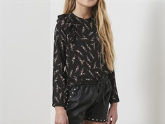 Petit by Sofie Schnoor bluse black flower
