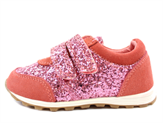 Petit by Sofie Schnoor sneaker coral med glimmer
