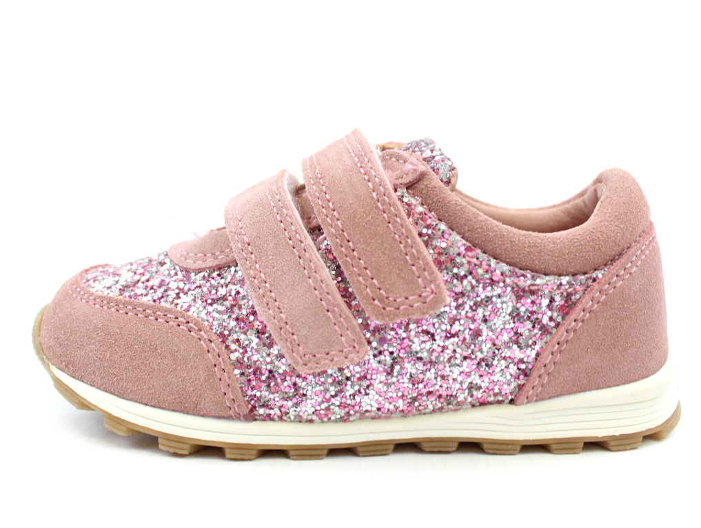 89ab2564aa6 Petit by Sofie Schnoor sneakers dusty rose glimmer | P183610 Dusty Rose |  str. 22-28 | 449,90.-
