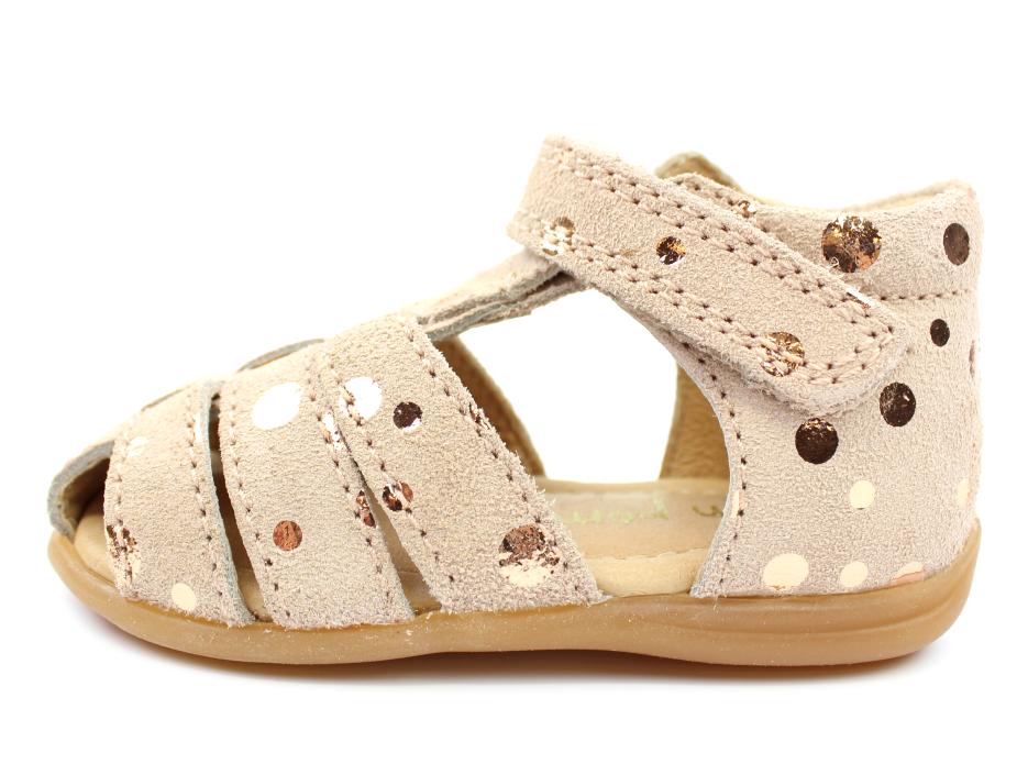 96d531b5412 Pom Pom sandaler rose bronze dot   6390   str. 19-24   Tilbud- spar masser  af penge i vores sommerudsalg