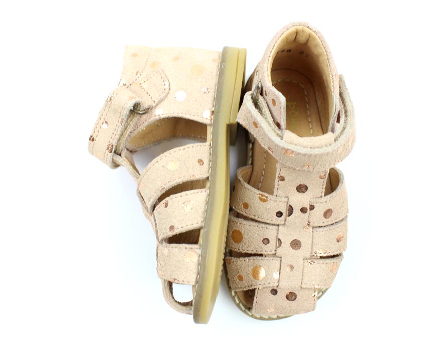 f0c8d2e639c Pom Pom sandaler rose bronze dot   6398   str. 20-28   Tilbud- spar ...
