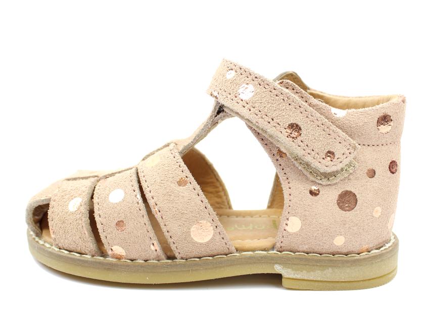 51fea7496cc Pom Pom sandaler rose bronze dot   6398   str. 20-28   Tilbud- spar masser  af penge i vores sommerudsalg