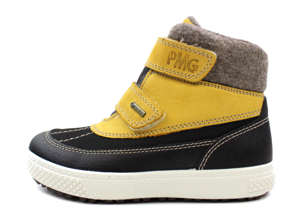 5bd178bd3631 Primigi vinterstøvle gul sort med TEX