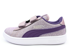 Puma Smash sneaker glitz glam elderberry