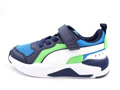 Puma sneakers X-Ray blue/white/peacoat/green