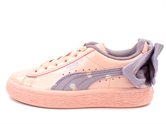 e8c67c972eb9 Puma sneaker Basket Bow Dots peach bud elderberry